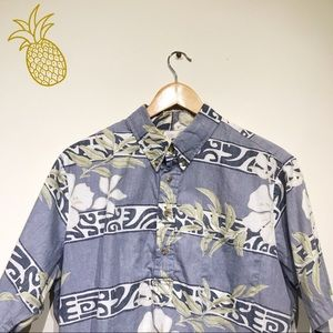 VINTAGE John Severson Hawaiian Dress Shirt